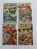 MARVEL SUB-MARINER #55 #56 #58 #59 Comic Books