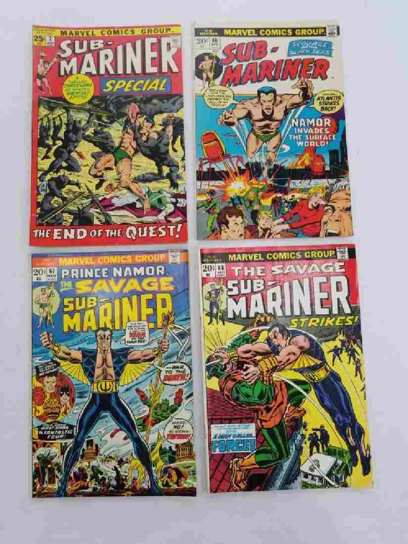 MARVEL SUB-MARINER #2 #60 #67 #68 Comic Books