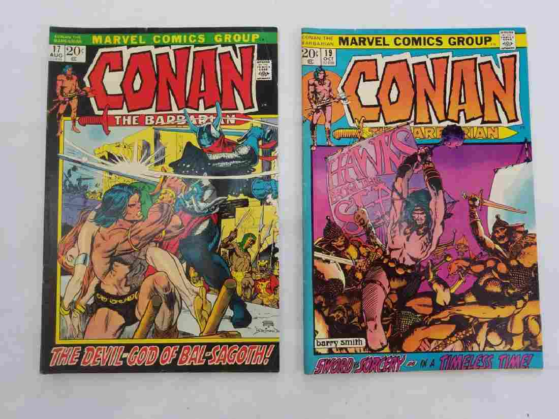 MARVEL CONAN THE BARBARIAN #17 & #19 Comic Books