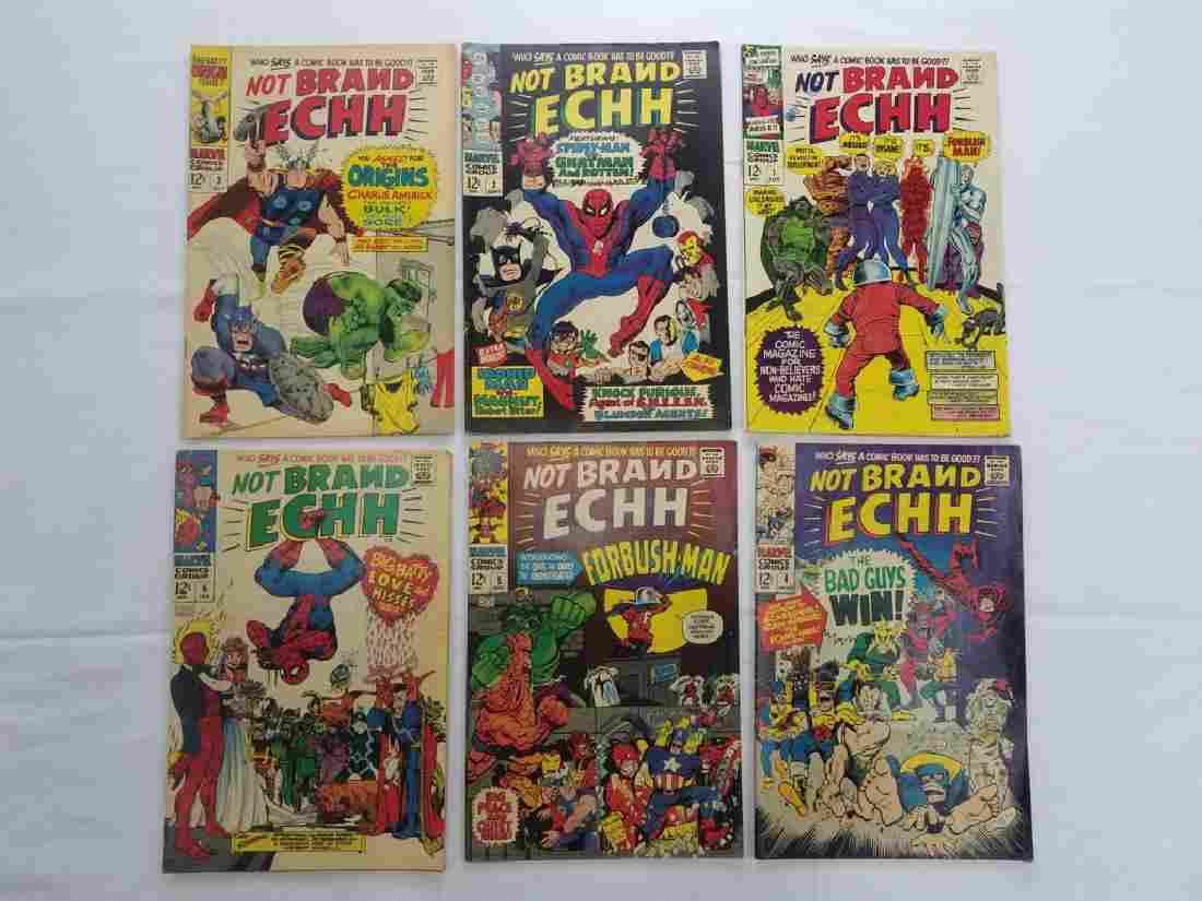 MARVEL NOT BRAND ECHH #1,2,3,4,5,6 COMIC BOOKS