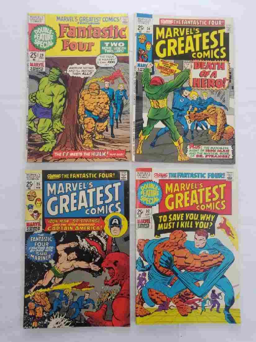 MARVELS GREATEST COMICS #24 #25 #29 #32 COMICS