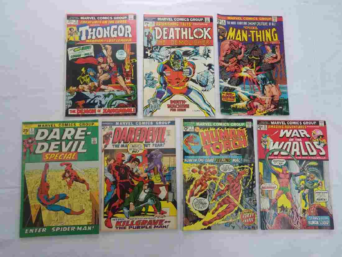 MARVEL COMICS GROUP LOT OF 7 BOOKS