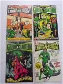 DC GREEN LANTERN #72 #87,88,89 COMIC BOOKS