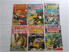 DC KAMANDI VINTAGE COMICS 4567910