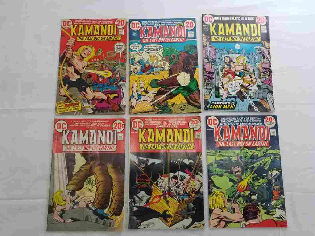DC KAMANDI VINTAGE COMICS #4,5,6,7,9,10