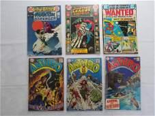 DC VINTAGE COMIC LOT OF 6 BOOKS