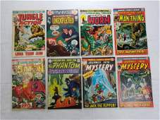 MARVEL & DC VINTAGE COMIC BOOK LOT OF 8