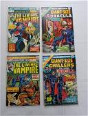 MARVEL GIANT SIZE GROUPING LOT OF 4 COMICS