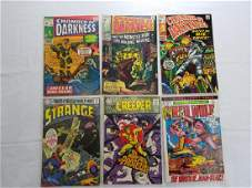 MARVEL  DC COMIC BOOK GROUPING LOT OF 6
