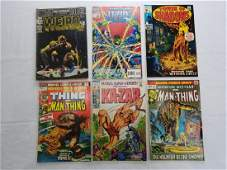 DC & MARVEL COMIC BOOK GROUPING LOT OF 6