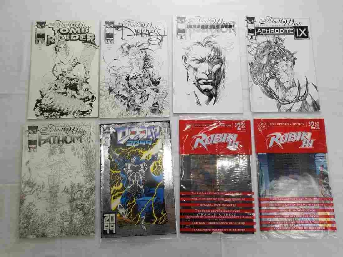 CONTEMPORARY MARVEL & DC COMICS LOT OF 8