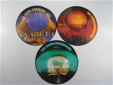 PINK FLOYD IMPORT VINYL 3 LP Torino Picture Disc
