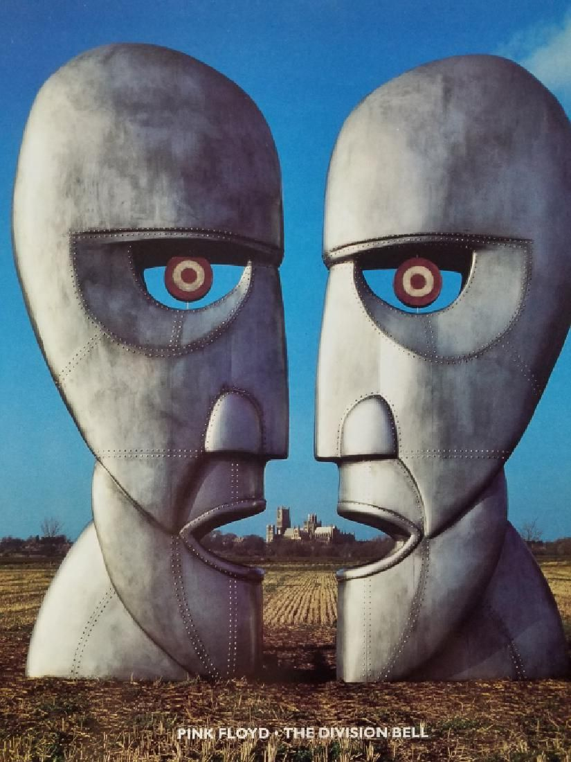 "PINK FLOYD ""The Division Bell"" IMPORT UK"