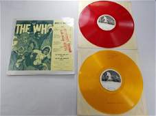 THE WHO Mods  Rockers 2 LP Colored