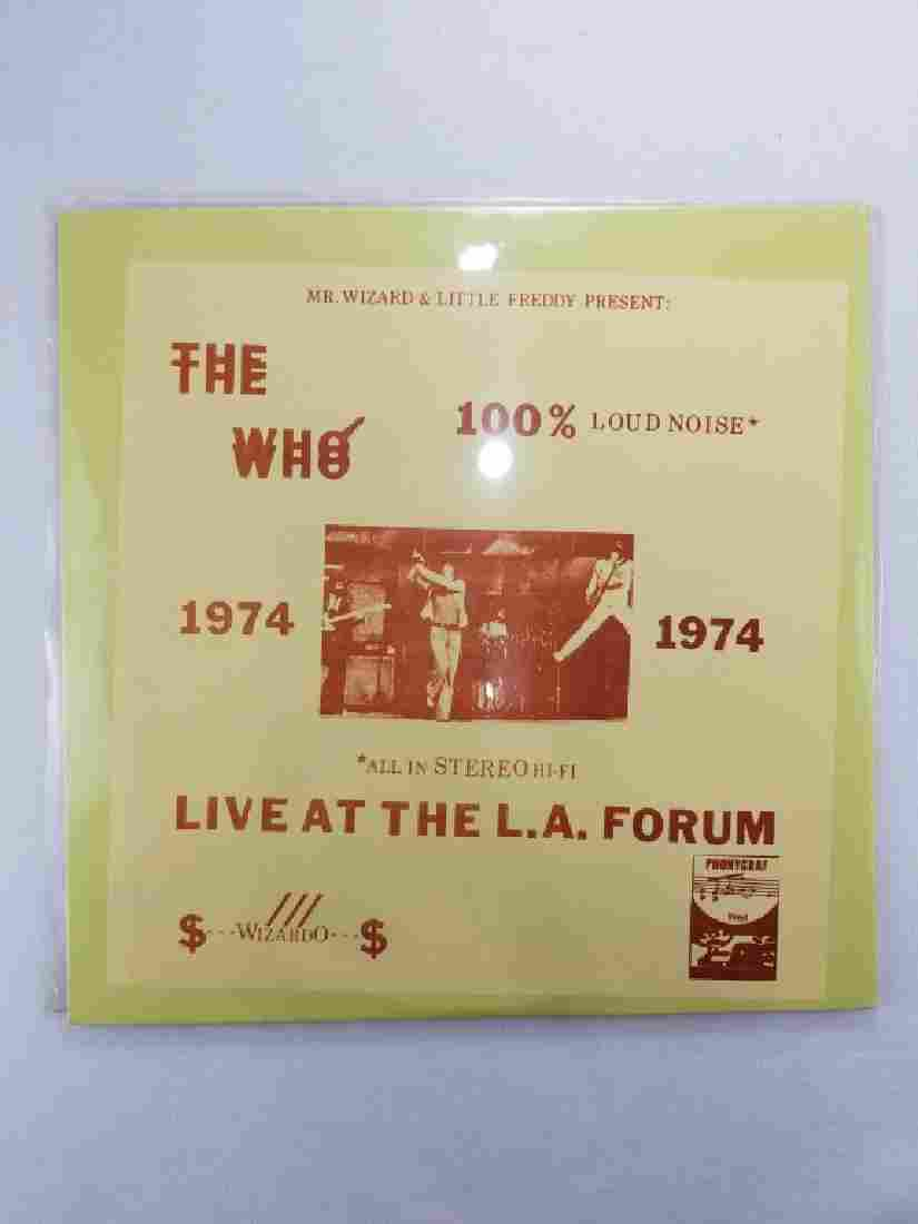 """THE WHO """"Live at the LA FORUM"""""""