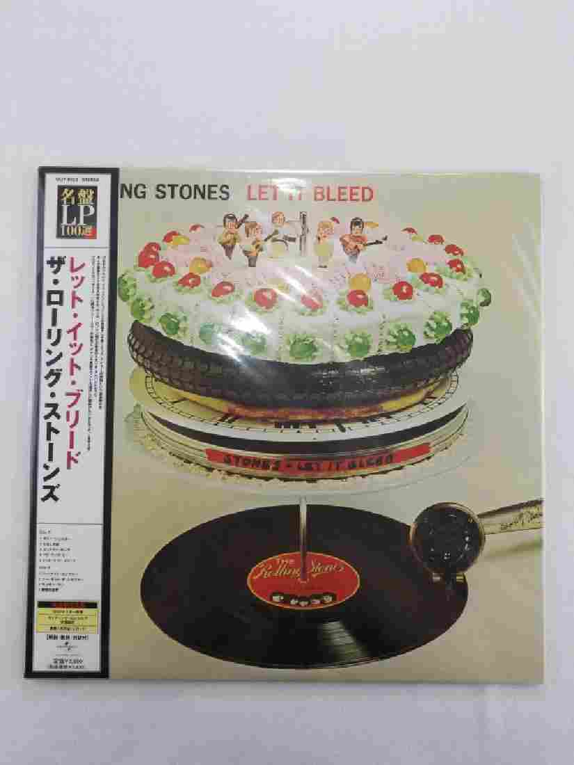 """THE ROLLING STONES """"Let it Bleed"""" Japan"""