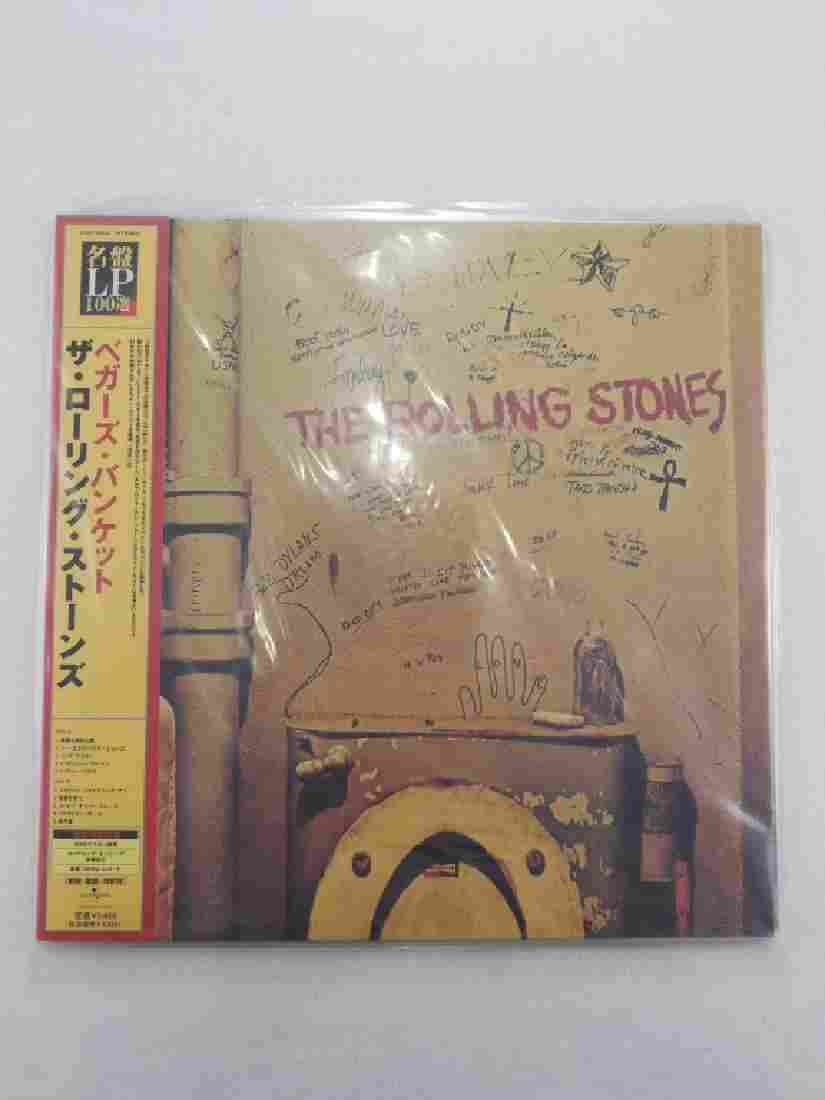 "THE ROLLING STONES ""Beggar's Banquet"" JAPAN"