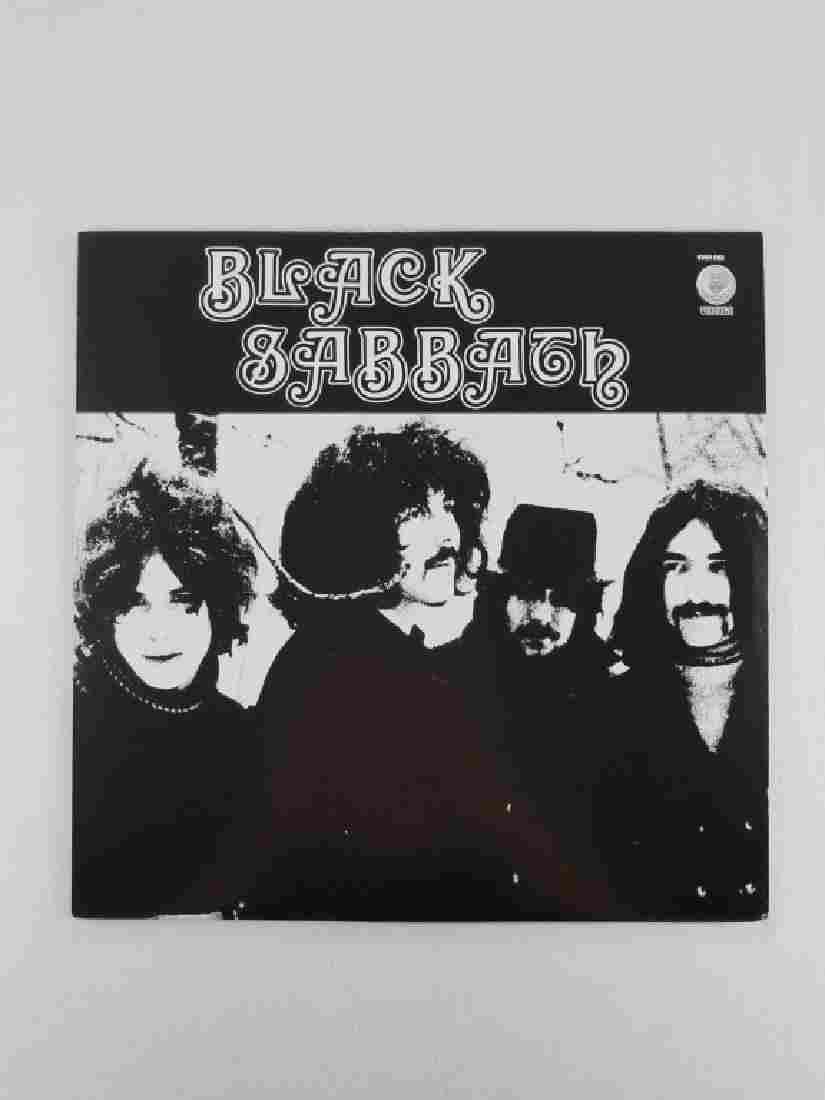 BLACK SABBATH Vertigo Records IMPORT