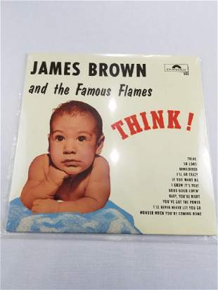 """JAMES BROWN & THE FAMOUS FLAMES """"THINK"""""""