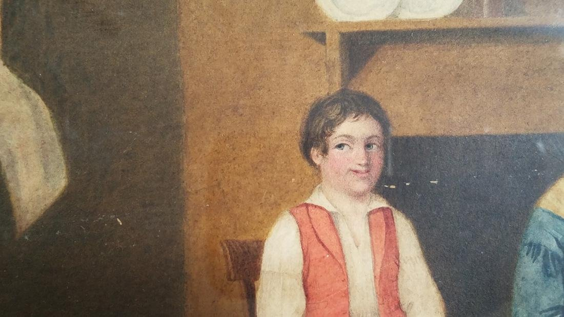 Early 19th Century Folk Art Watercolor - 2