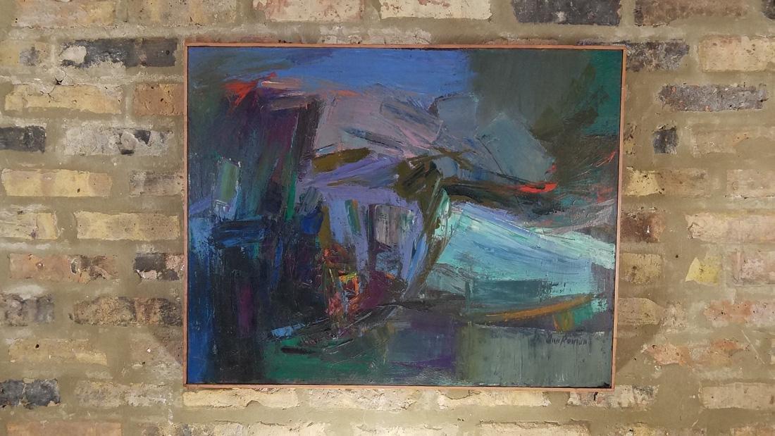Ann Roman Oil Painting
