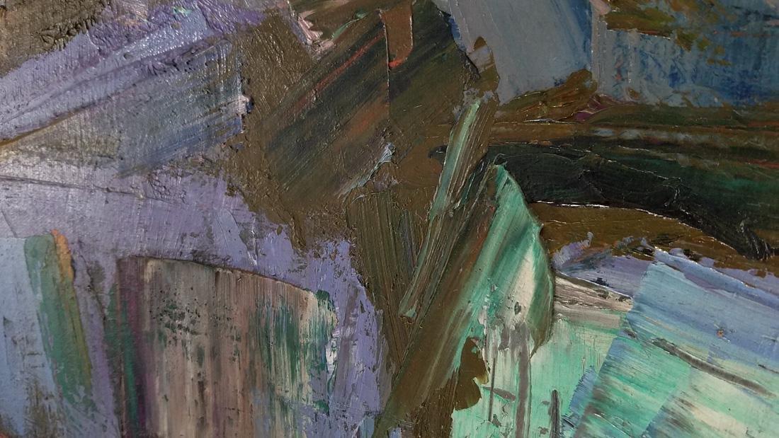 Ann Roman Oil Painting - 2