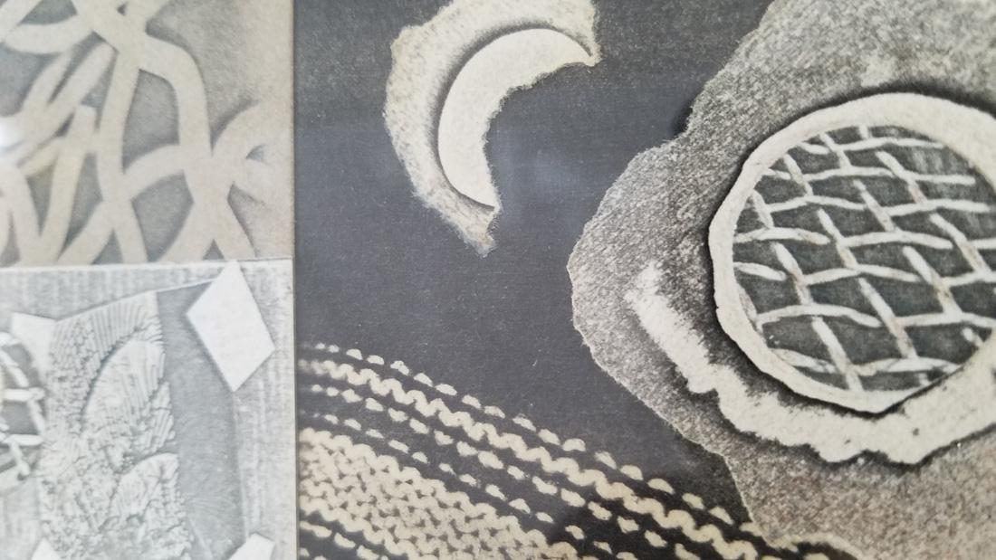 Evelyn Statsinger, Collage, After Image - 3
