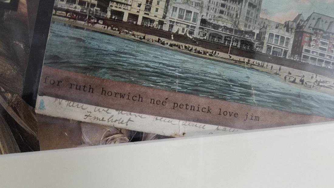 Jim G. Faulkner Collage for Ruth Horwich with Love - 2