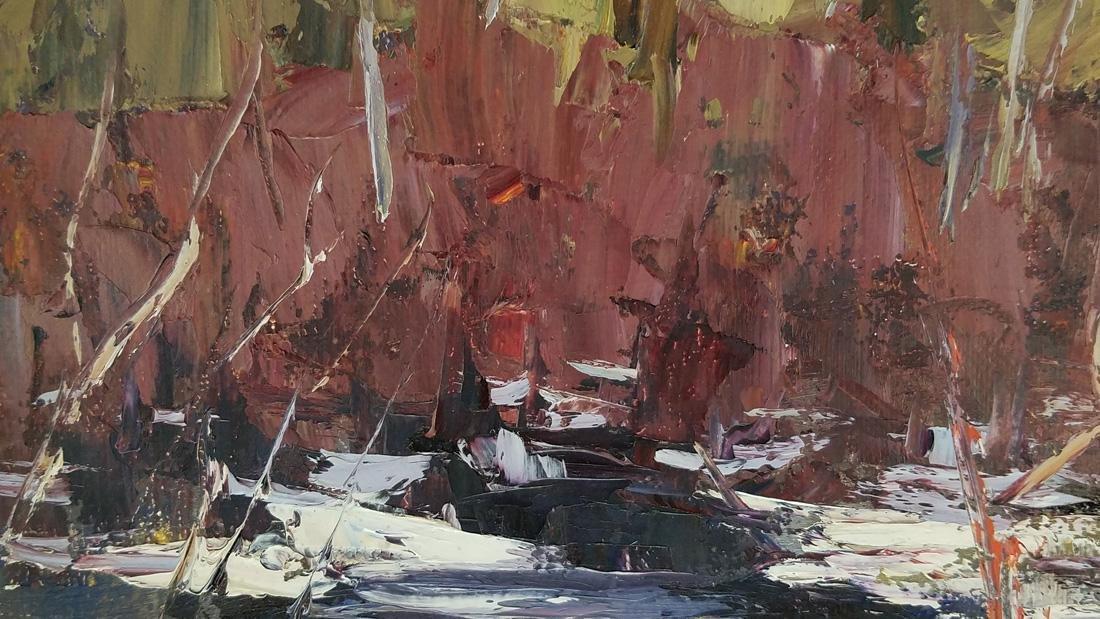 W.J. Hopkinson Oil Painting on Board - 2