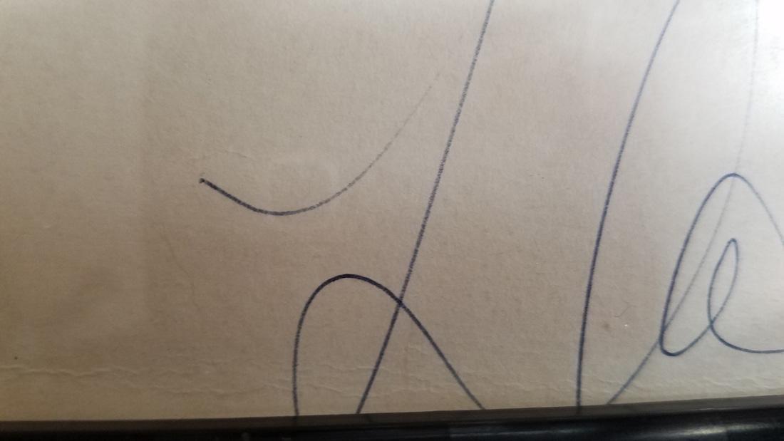 Art Deco Ski Jumper Hand Signed Print Surrealist - 7