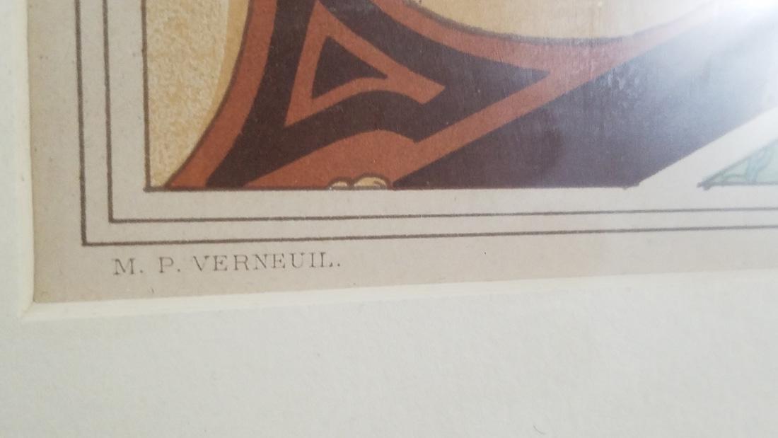 Art Nouveau Lithograph of Otter M.P. Verneuil - 2