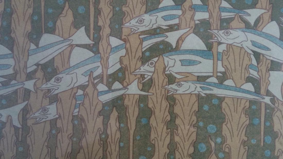 Art Nouveau Lithograph of Otter M.P. Verneuil - 5