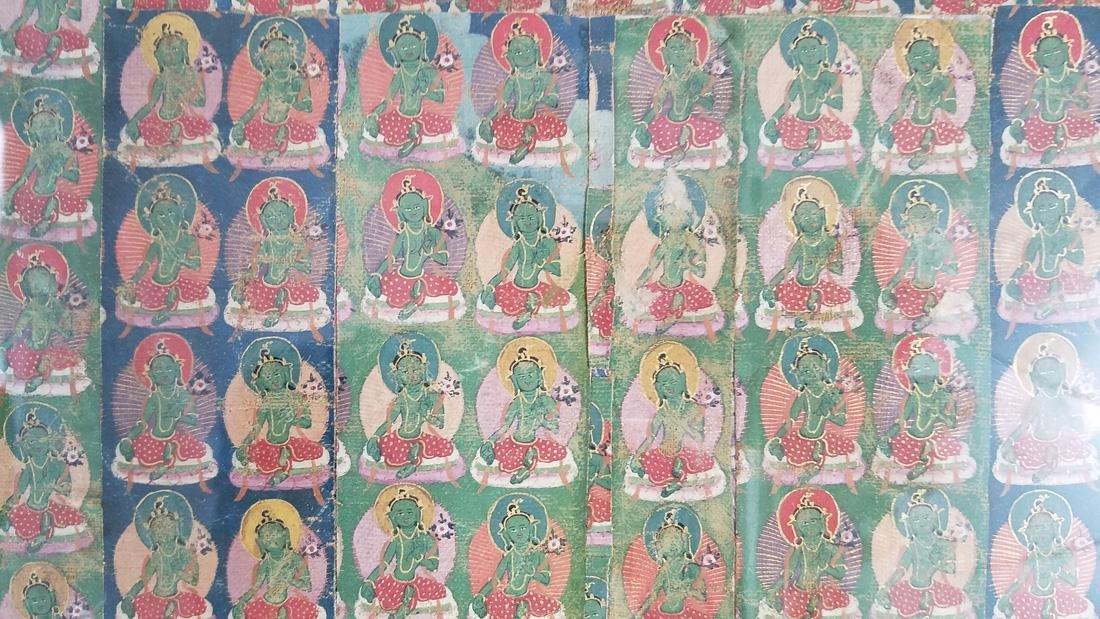 Vintage Tibetan Thangka