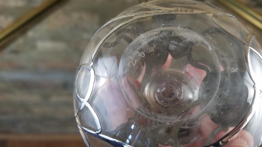Antique Perfume Bottle Fine Silver - 3