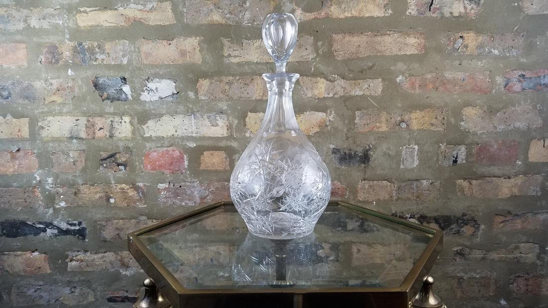 Josef Svarc Bohemian Glass Decatur, Signed - 6