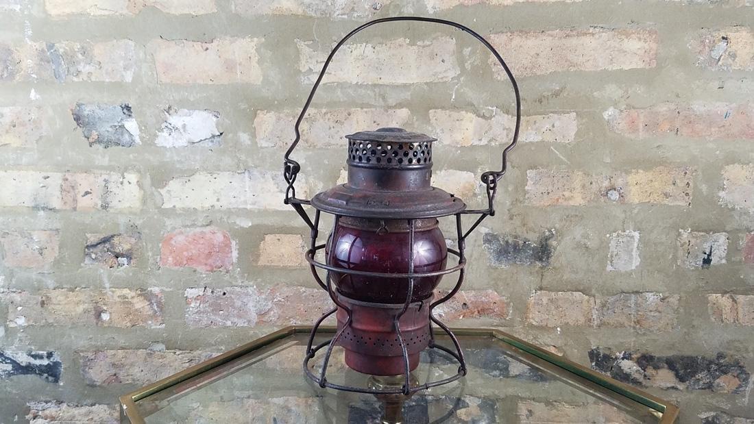 Antique Railroad Lamp