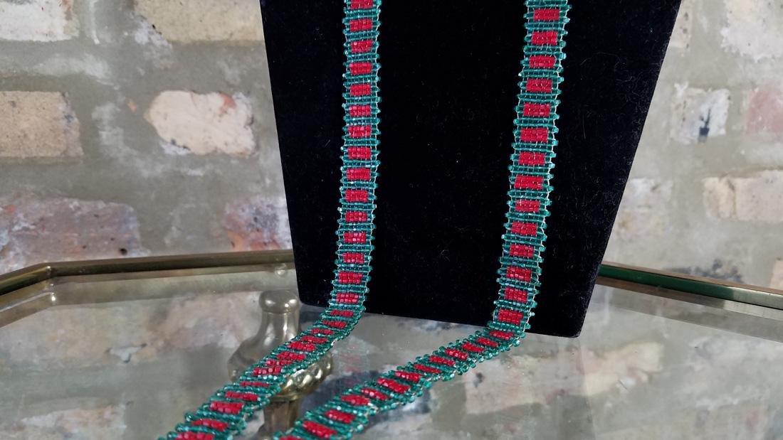 Art Deco Flapper Necklace - 3