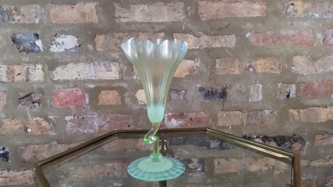 Signed LCT Favrille Flower Form Vase