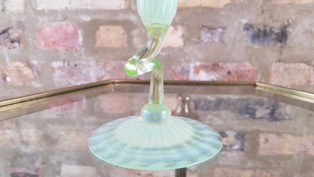 Signed LCT Favrille Flower Form Vase - 2