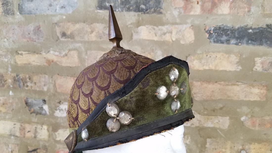 Antique Masonic Scottish Rite Helmet - 2