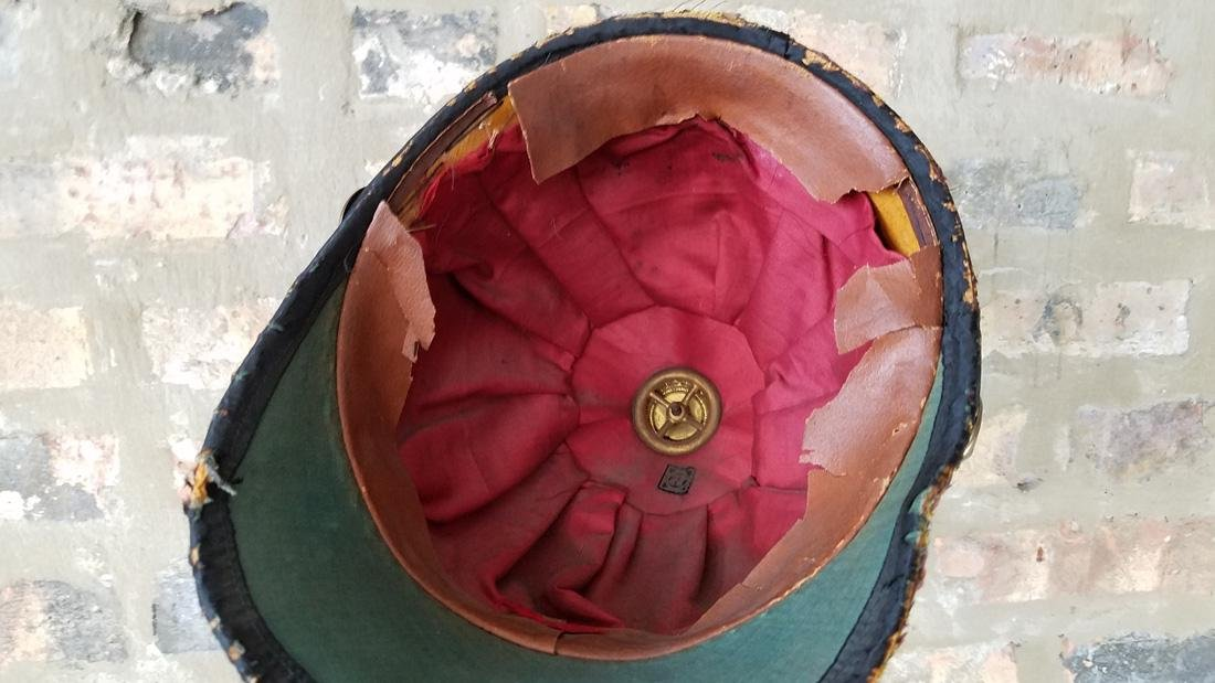 Antique Masonic Scottish Rite Helmet - 4