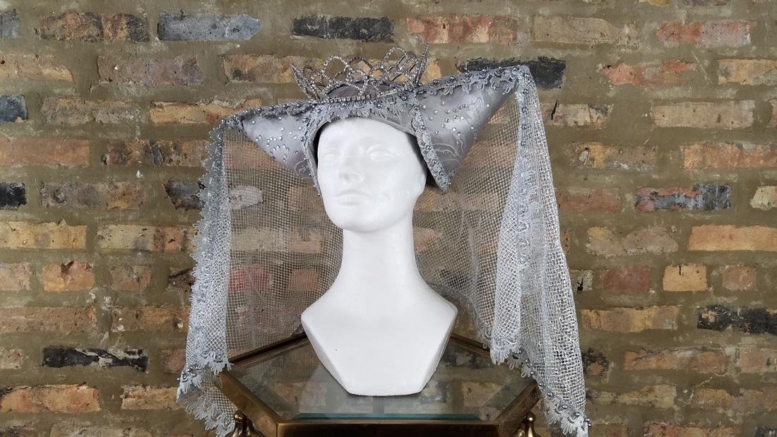 Vintage Surrealist 1920s Style Theatrical hat