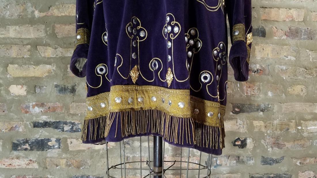 Antique Velvet Tunic c. 1900 Secret Society - 2