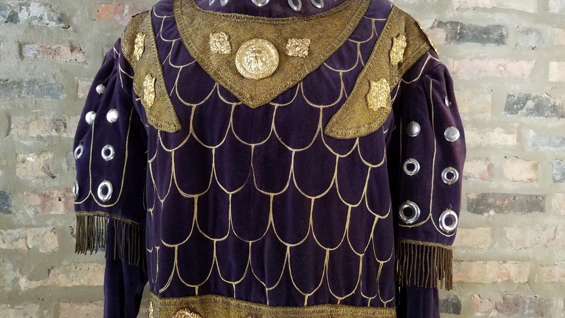 Antique Velvet Tunic c. 1900 Secret Society - 3