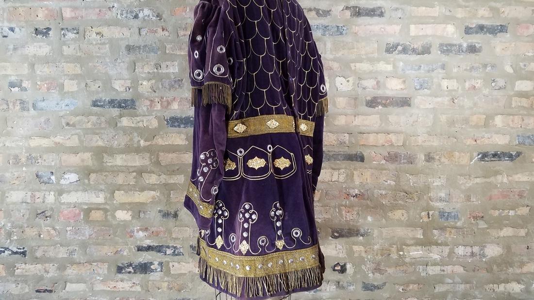 Antique Velvet Tunic c. 1900 Secret Society - 5