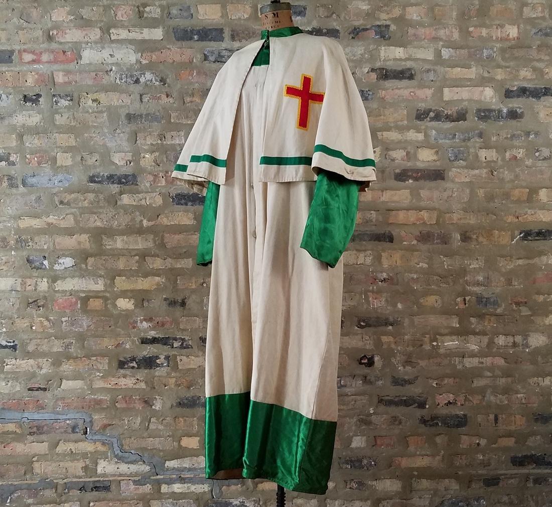 Knights Templar Full Length Vintage Jacket