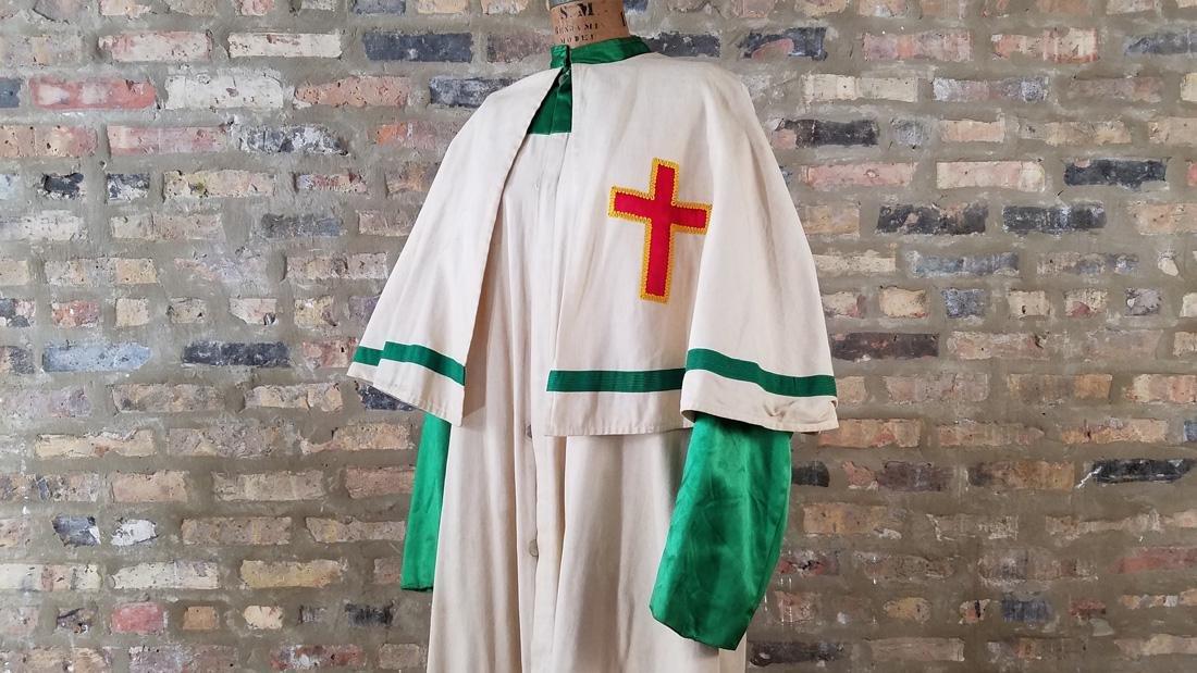 Knights Templar Full Length Vintage Jacket - 2