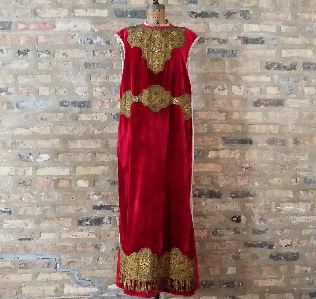 Antique Dress C. 1910 Secret Society