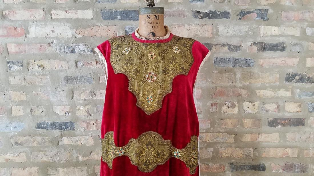 Antique Dress C. 1910 Secret Society - 2