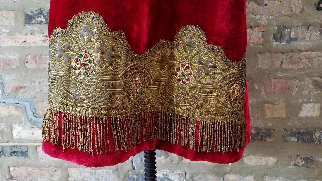 Antique Dress C. 1910 Secret Society - 4